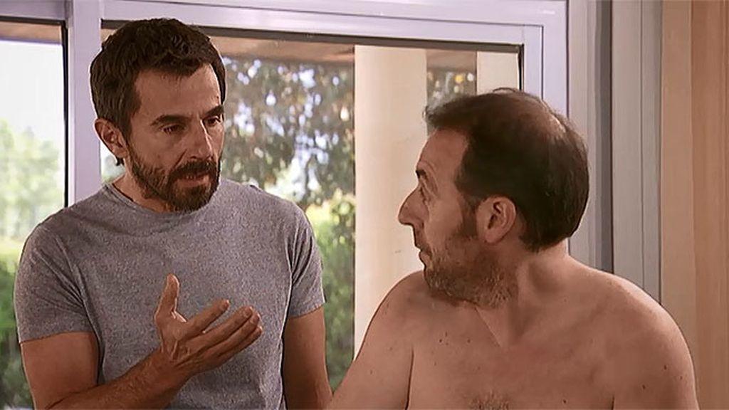 Fabián le confiesa a Pablo que saltó al vacío para subir a una nave espacial