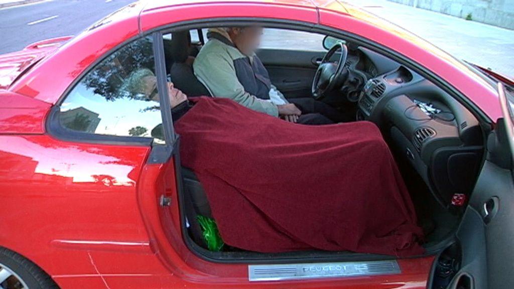 Privilegiados por tener coche donde dormir