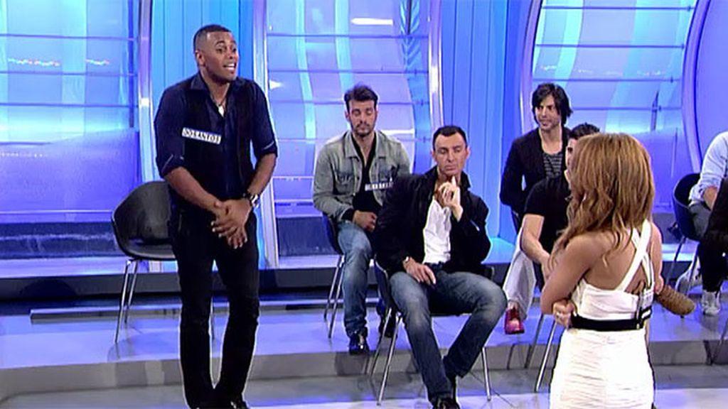 Dosantos bailó el 'chuminero' con Lydia Lozano