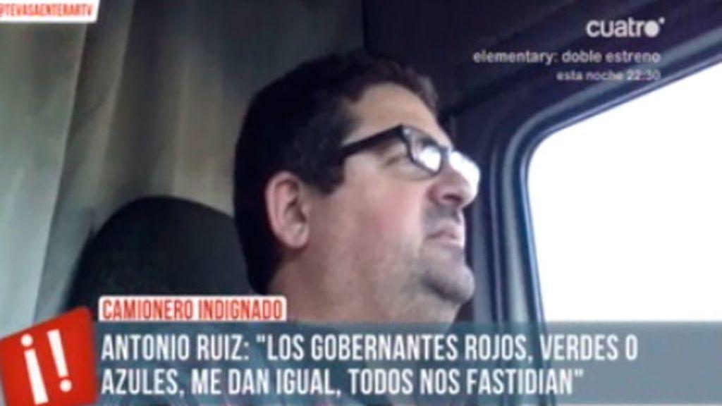 El camionero indignado