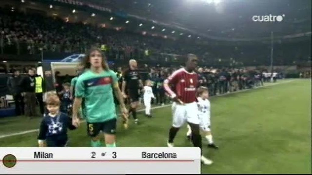 Milan 2 - 3 Barcelona