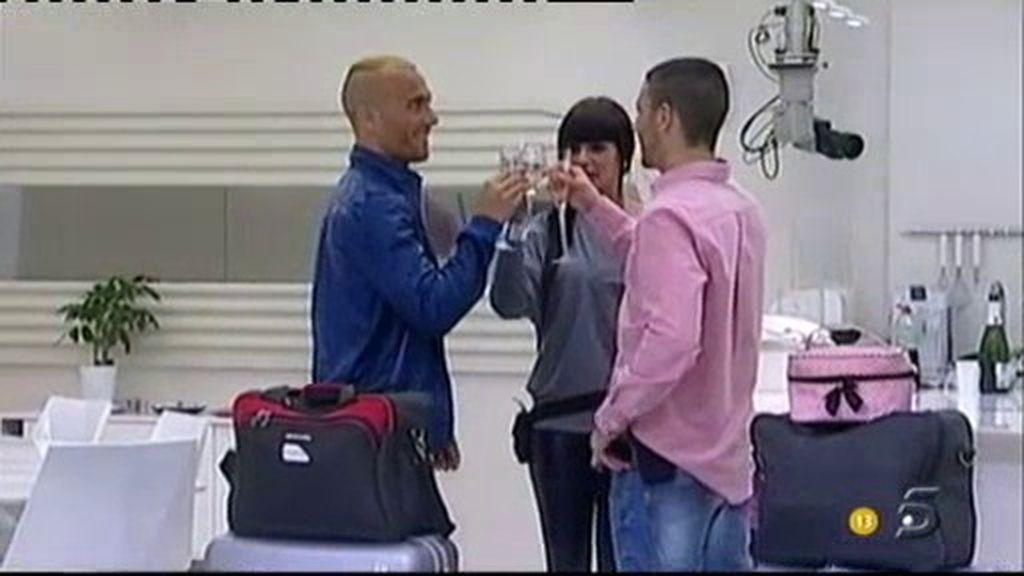Laura, Marcelo y Yago