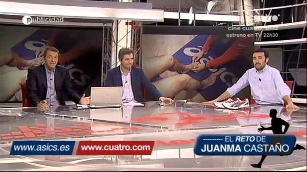 Juanma Castaño nos enseña sus ASICS