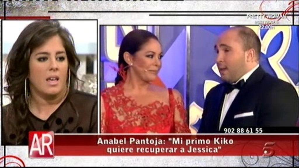 """Anabel Pantoja: """"Mi primo Kiko está muy arrepentido y quiere recuperar a Jessi"""""""
