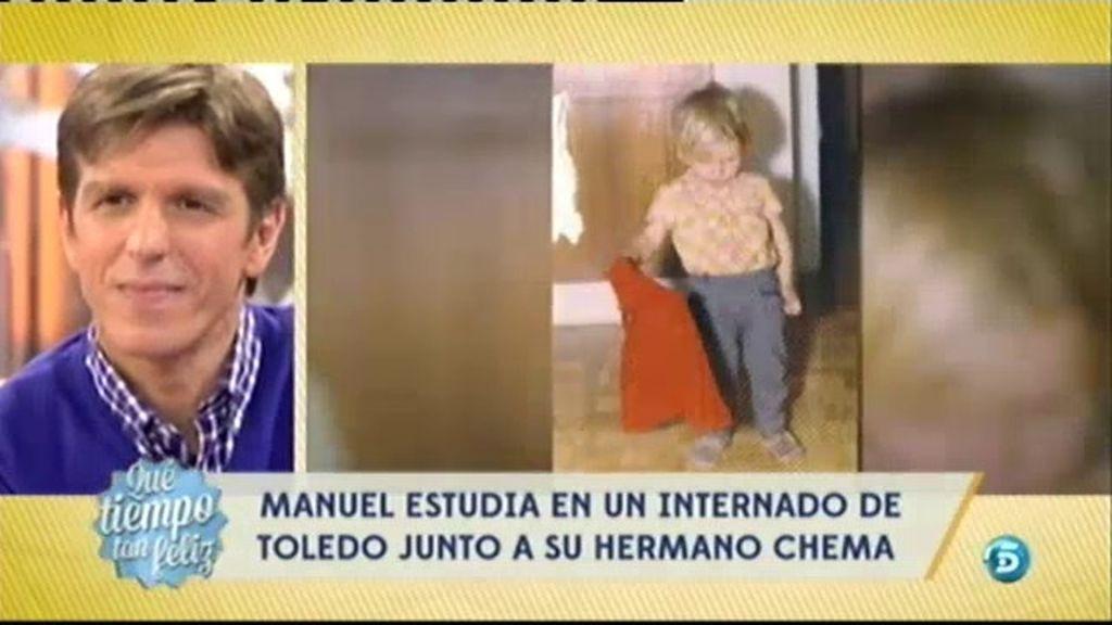 La llegada al mundo de Manuel Díaz