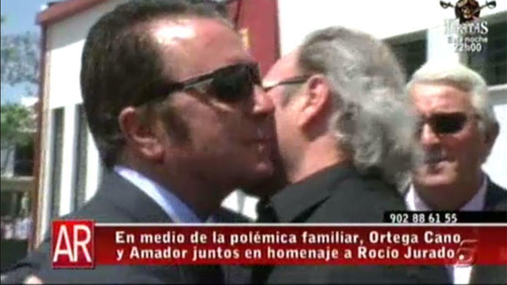 Amador y Ortega, juntos