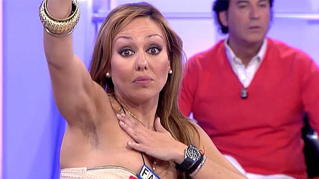 Angie cree que Olga es demasiado mayor para Rubén