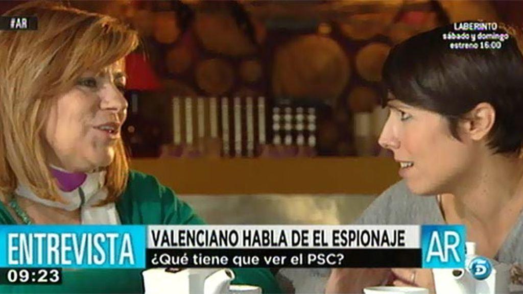 """Elena Valenciano: """"Nosotros no contratamos empresas de espías"""""""