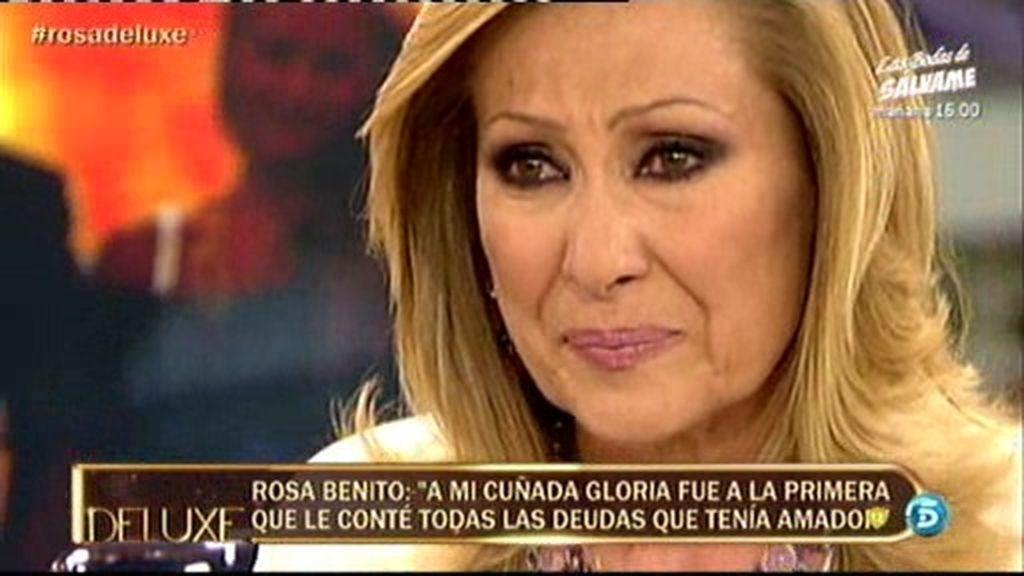 """Rosa Benito: """"Si pierdo mi casa por culpa de Amador, lo mato"""""""