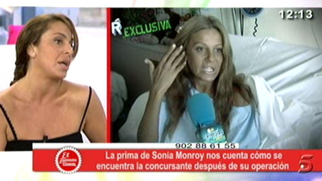 Siguen haciendo pruebas a Sonia