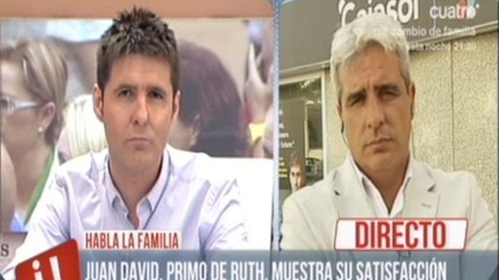 """Juan David, primo de Ruth: """"Es un pequeño alivio porque se ha hecho justicia"""""""