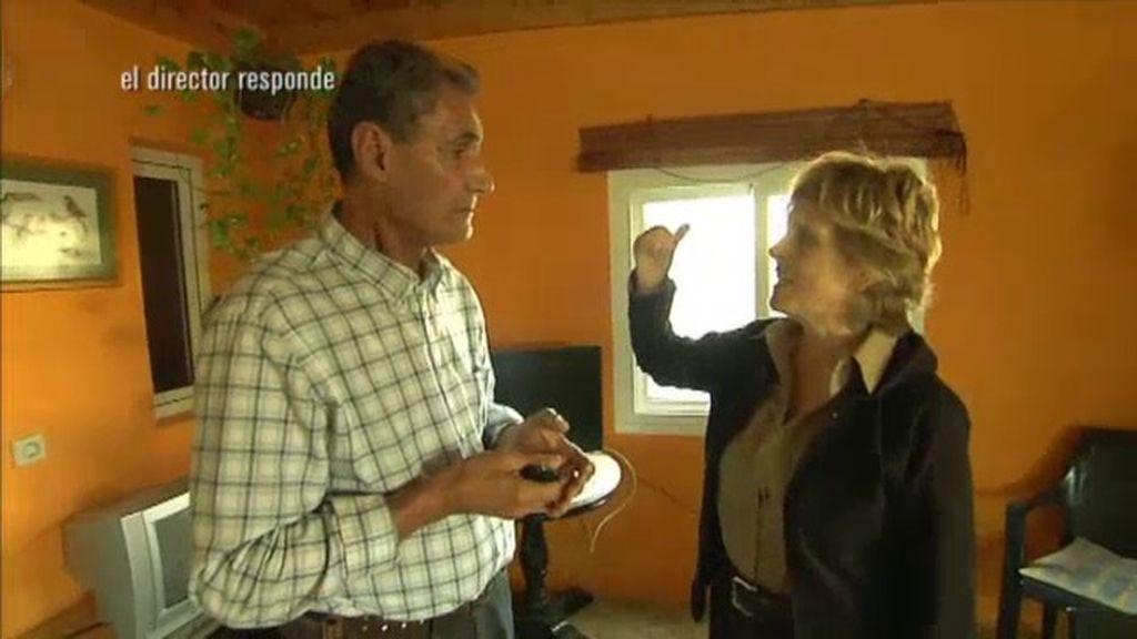 Mercedes entrevista al dueño de la residencia