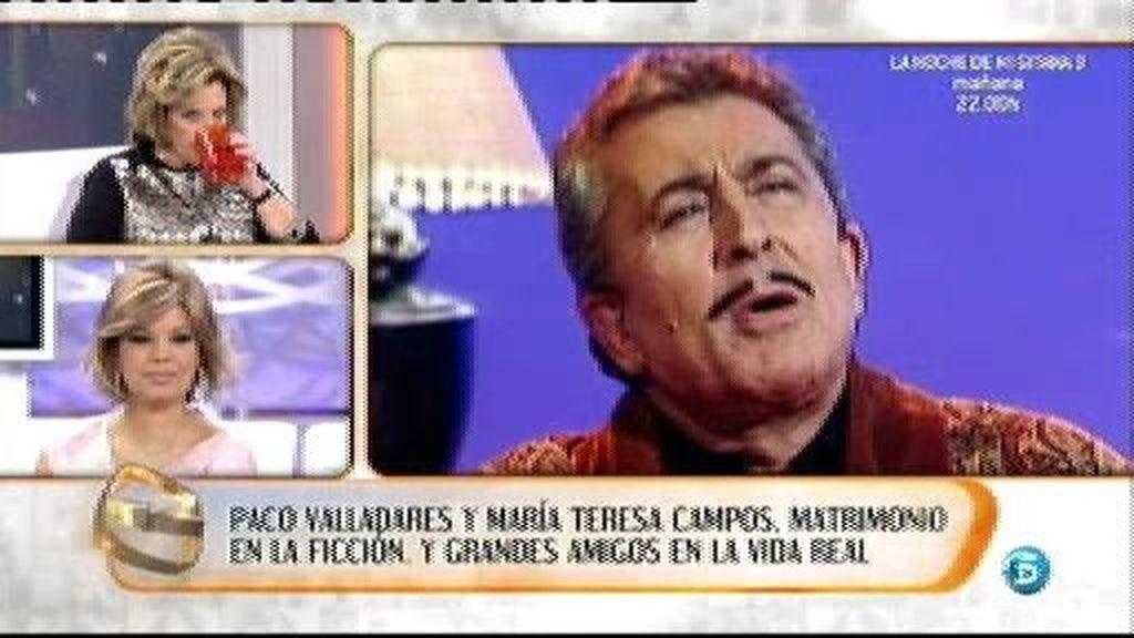 Paco era más que una amigo para Las Campos