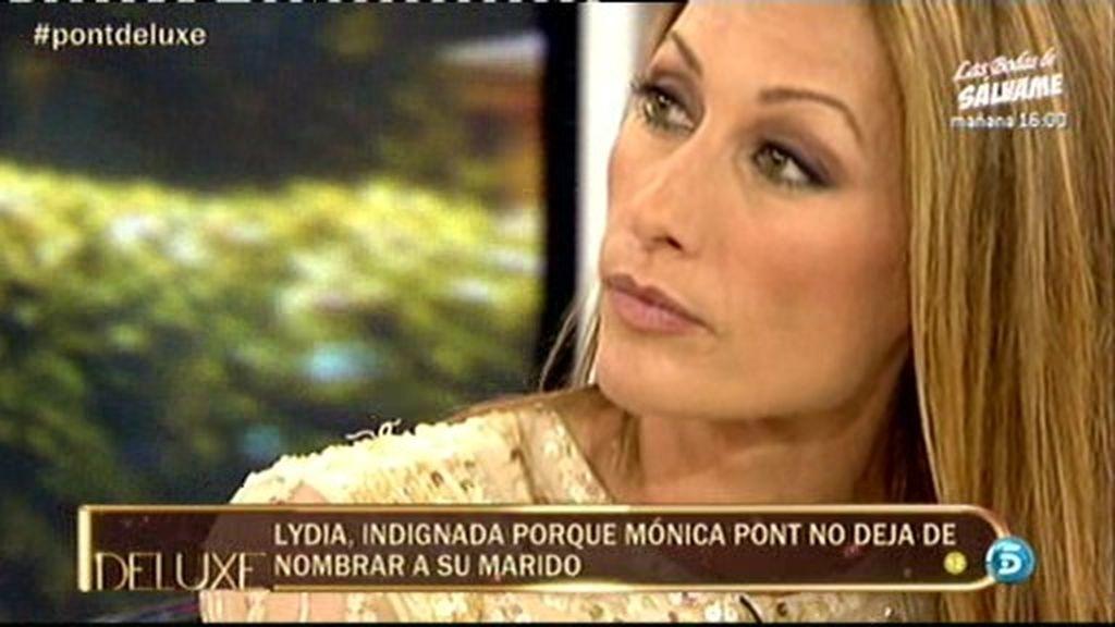 Jorge Javier se enfada y echa a Mónica Pont