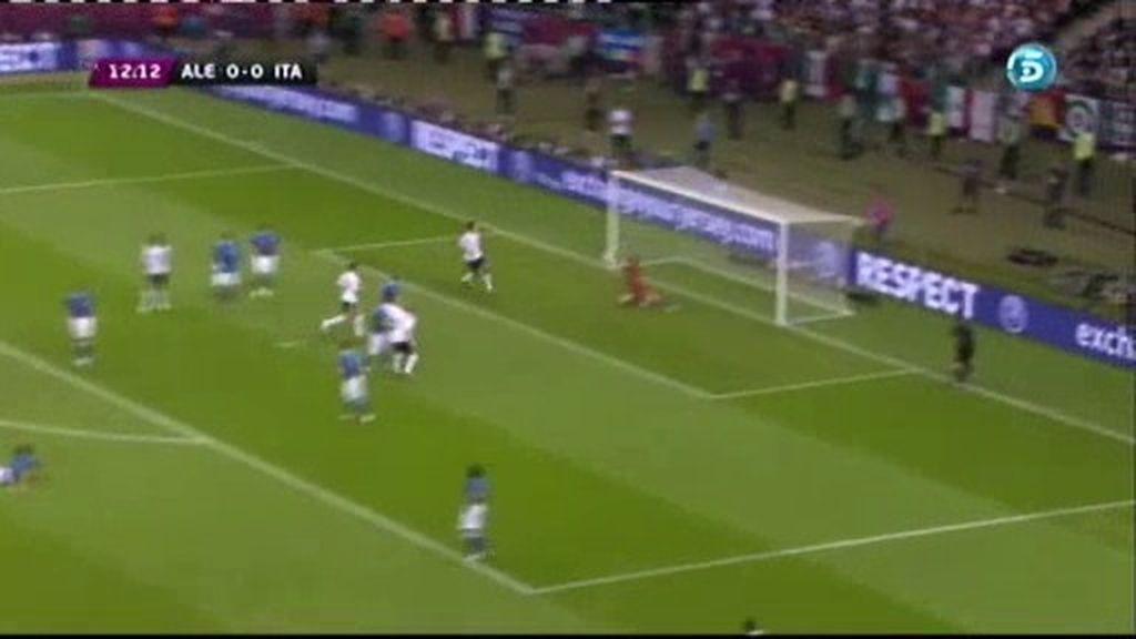 Buffon salva a Italia