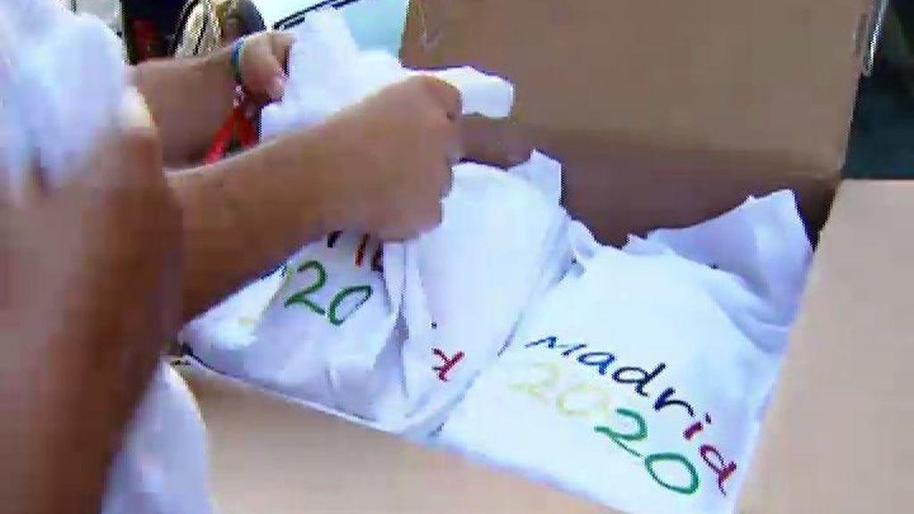 Los voluntarios, la pieza clave de la candidatura Madrid 2020