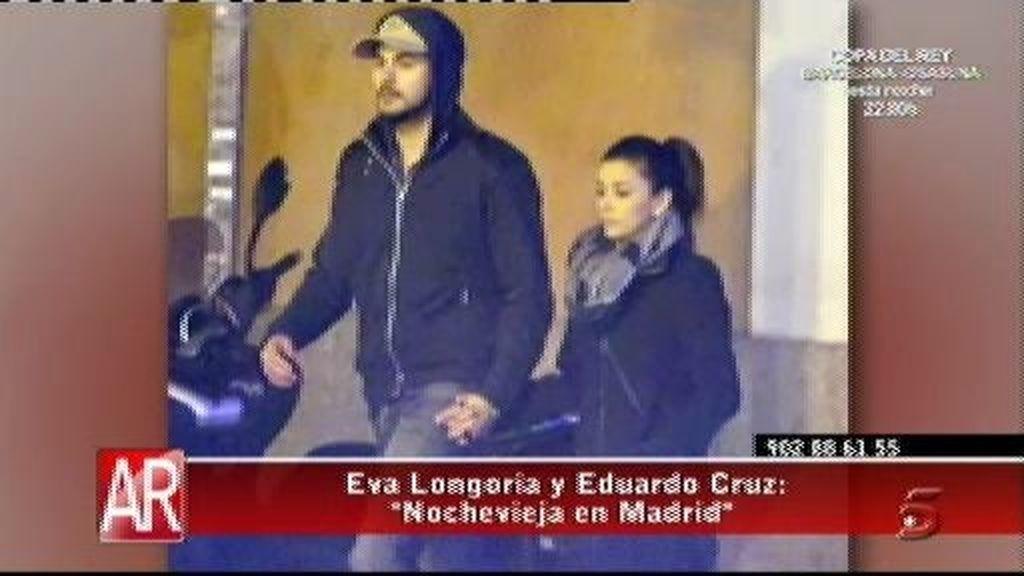 Eva Longoria y Eduardo Cruz desatan su pasión en Madrid