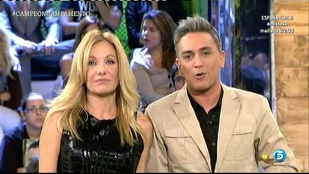 """Kiko Hernández y Belen Rodríguez: """"Si gana Jeyko nos desnudamos en Interviú"""""""