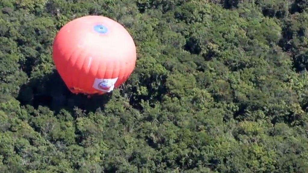 Aterrizaje extremo en la jungla