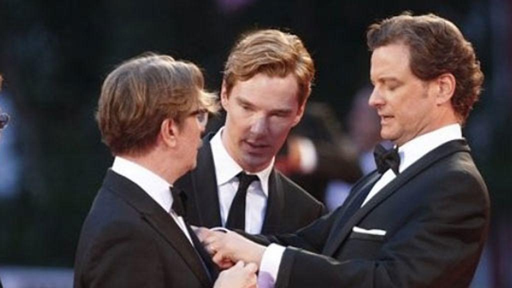 Colin Firth enamora a Venecia