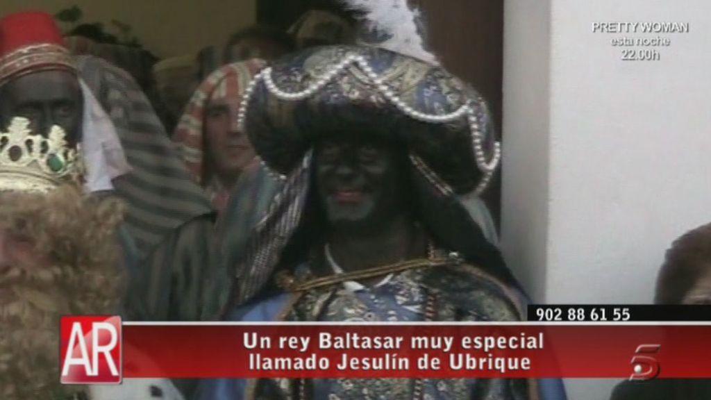 Jesulín de Ubrique, un Rey Baltasar muy especial