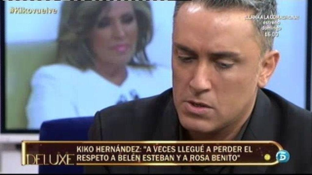 """Kiko Hernández: """"Antes me insultaban y no me daba la vuelta, ahora sí"""""""
