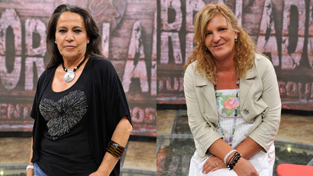 Mª Ángeles y Blanca nominadas