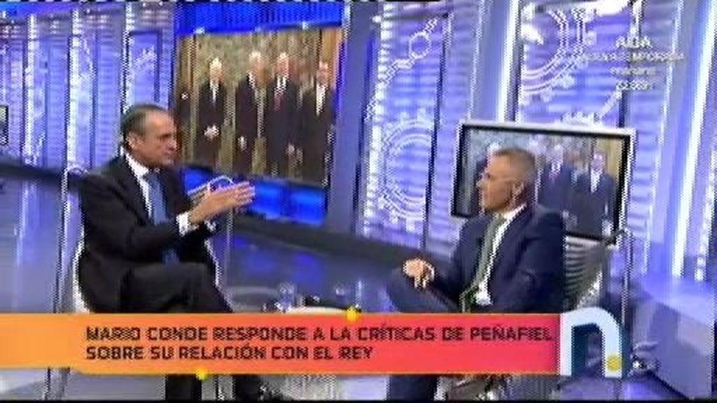 ¿Cuál es la relación entre Mario Conde y el Rey Juan Carlos?