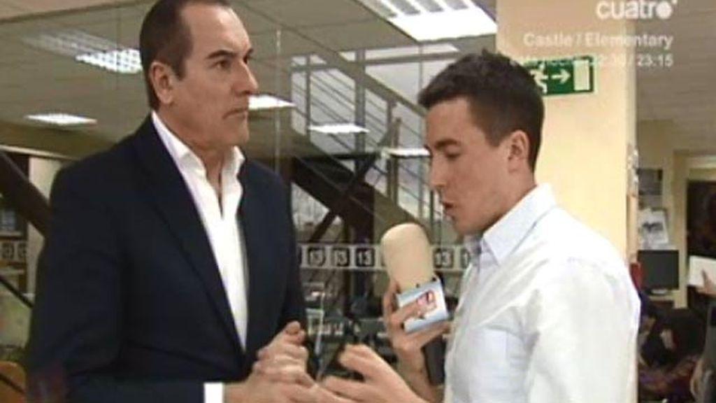 """Antonio Jiménez: """"El caso Bárcenas ha sido políticamente utilizado para pedir la dimisión de Rajoy"""""""