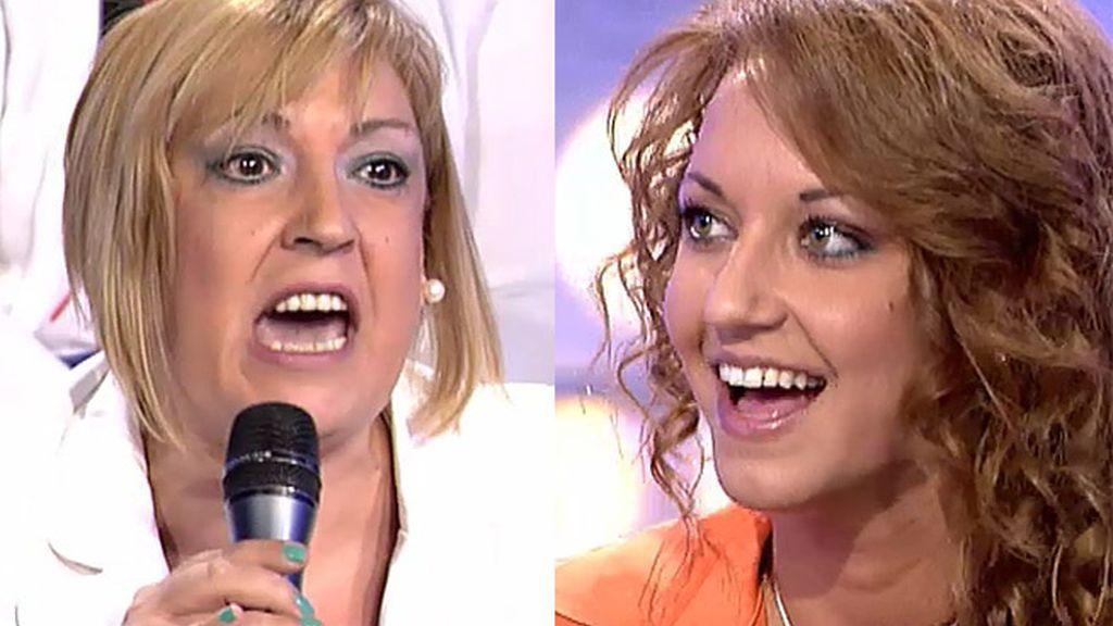 La risa de Gina calienta a Pilar