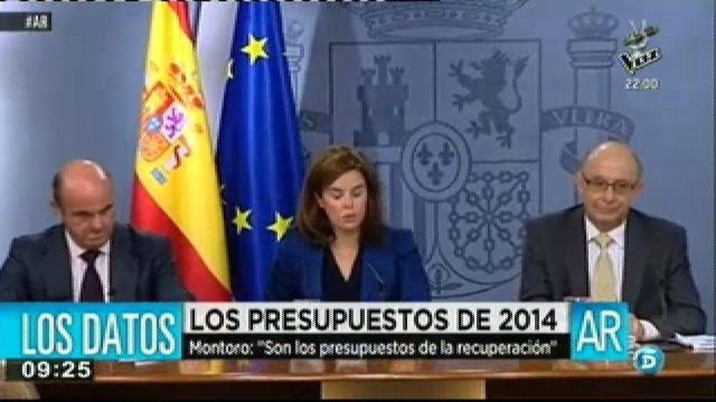 El Gobierno presenta los primeros presupuestos generales del Estado de la recuperación