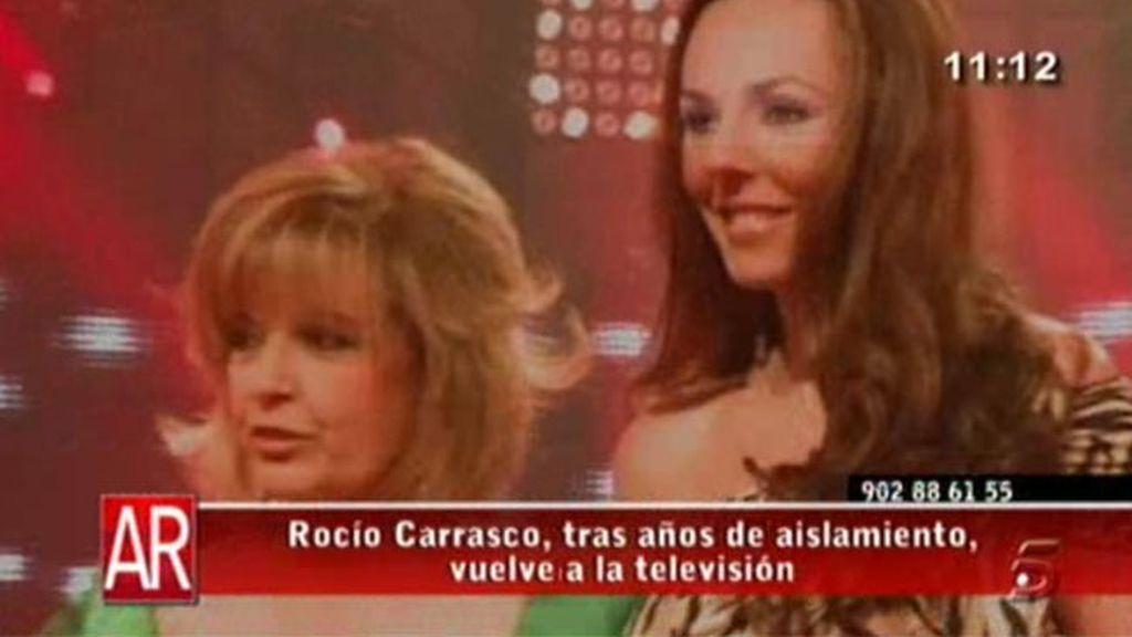 Rocío Carrasco vuelve a la tele