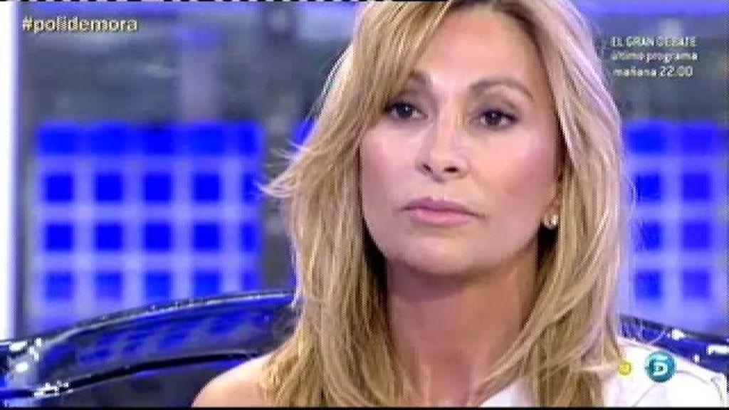 María de Mora miente cuando afirma que Andrés no le ha sido infiel a Chayo