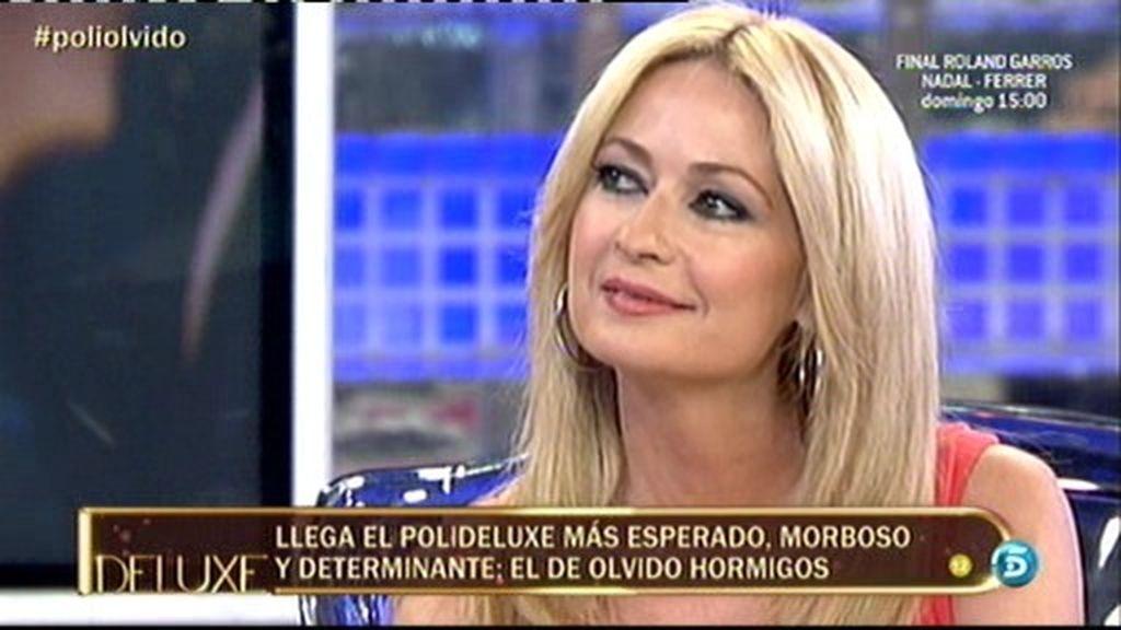 El polideluxe confirma que Olvido Hormigos se ha besado con Hugo Castejón