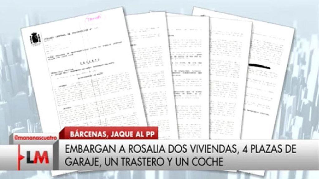 Los bienes que serán embargados a Rosalía Iglesias