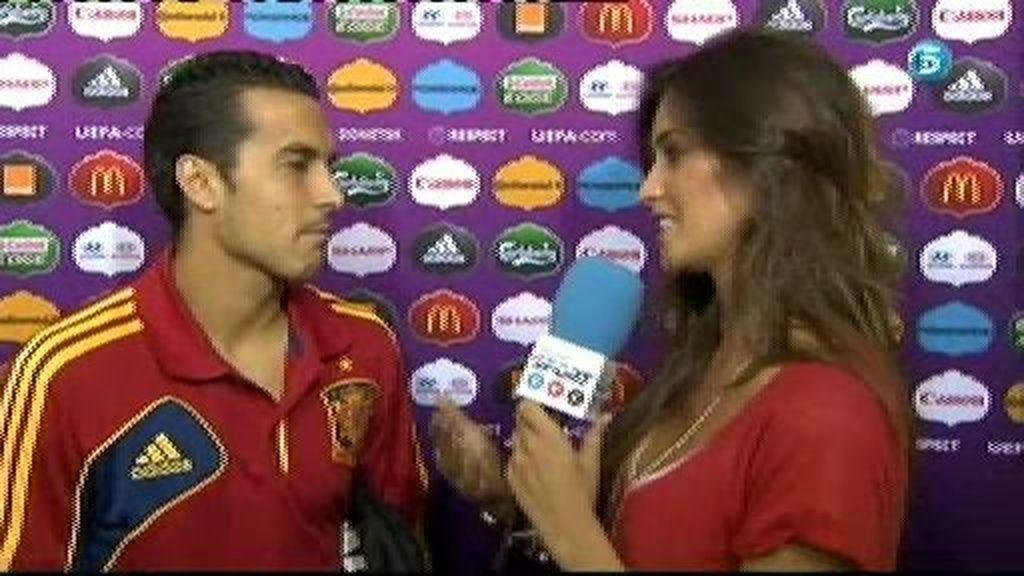 """Pedro: """"Estamos contentos por el pase a semifinales, nos lo merecemos"""""""