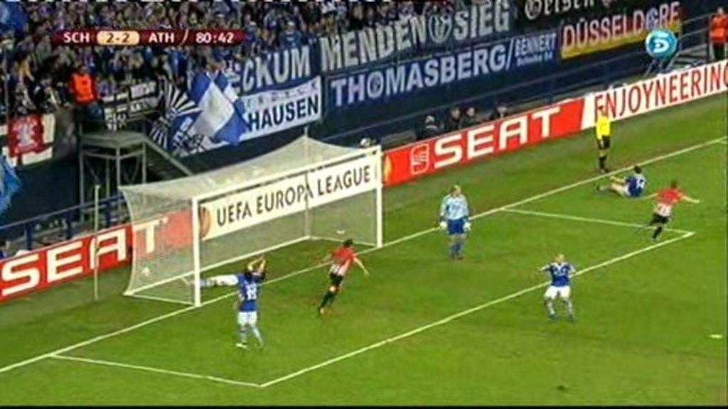 Schalke 04 2 - 3 Athletic Club: De Marcos