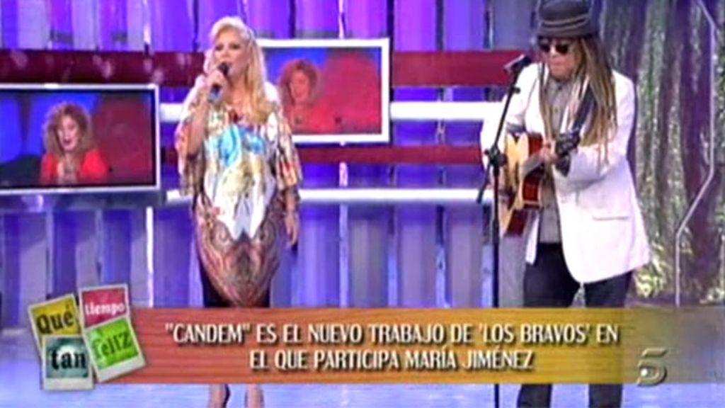 María Jiménez y 'Los Bravos'