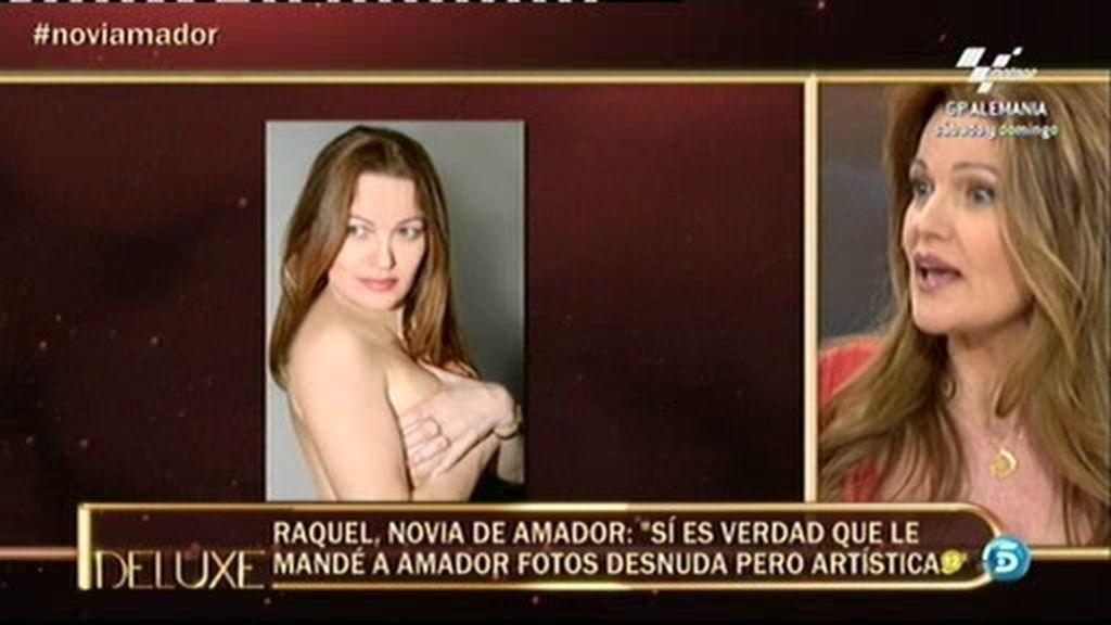 """Raquel, novia de Amador: """"Sí es verdad que le mandé a Amador fotos desnuda"""""""