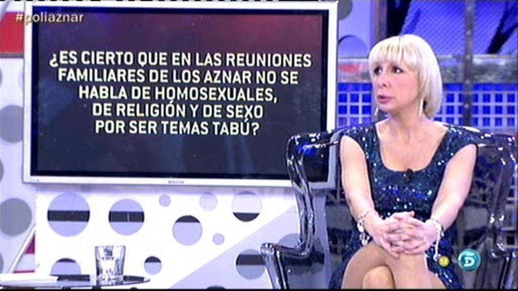 En casa de los Aznar no se habla de sexo
