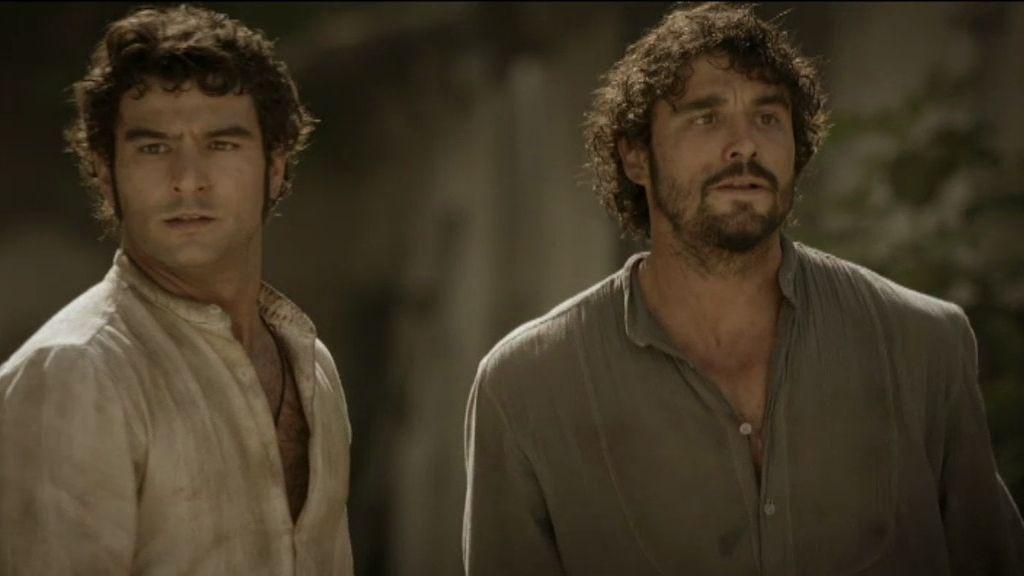 ¡Aníbal, César y Román son hermanos!