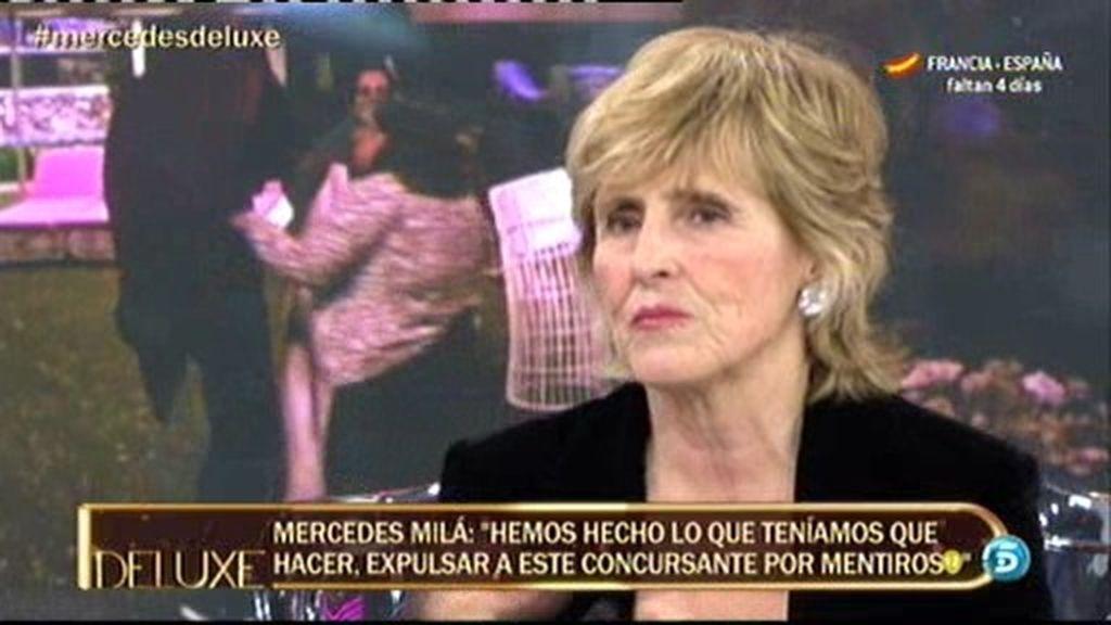 """Mercedes Milá: """"Con Danny, me salió la fiera"""""""