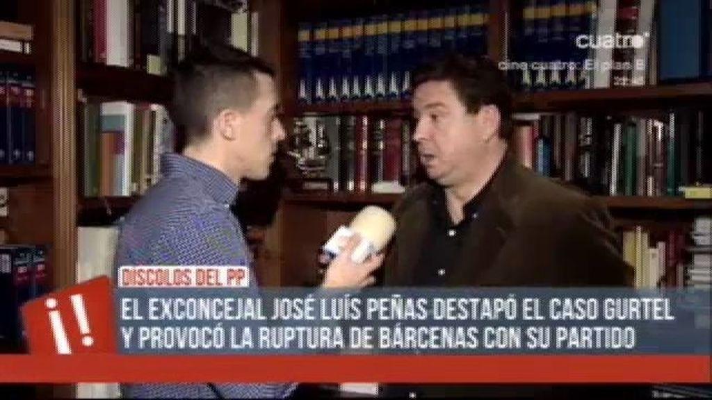 """José Luis Peñas: """"La vida política de Cospedal es una completa mentira"""""""