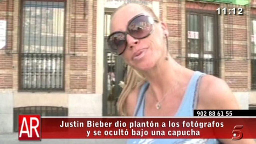 Belén y los seguidores de Bieber