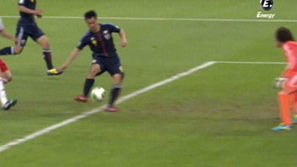 Gol: Japón 1–2 México (min.86)
