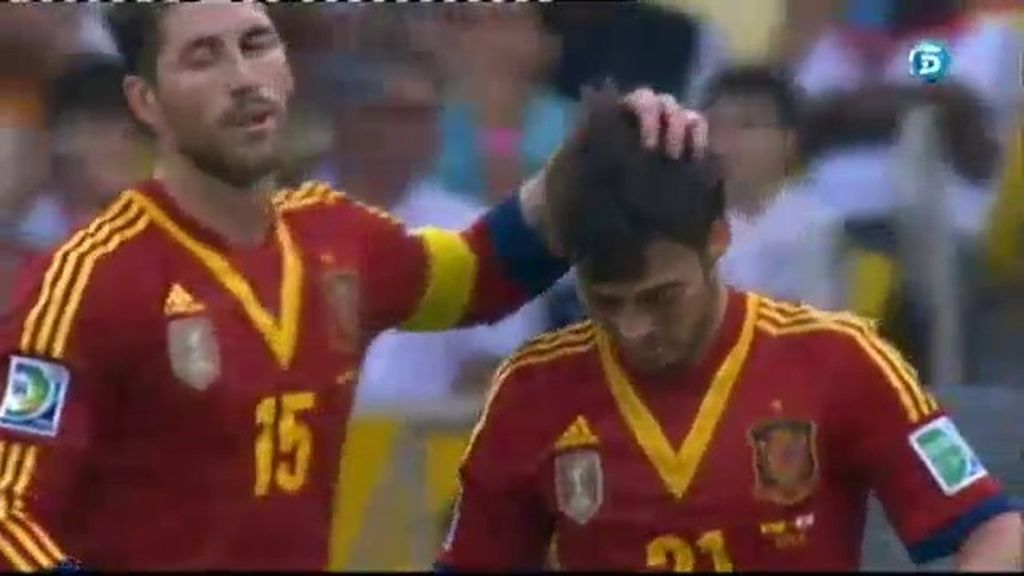 Gol: España 2-0 Tahití (Min.31)