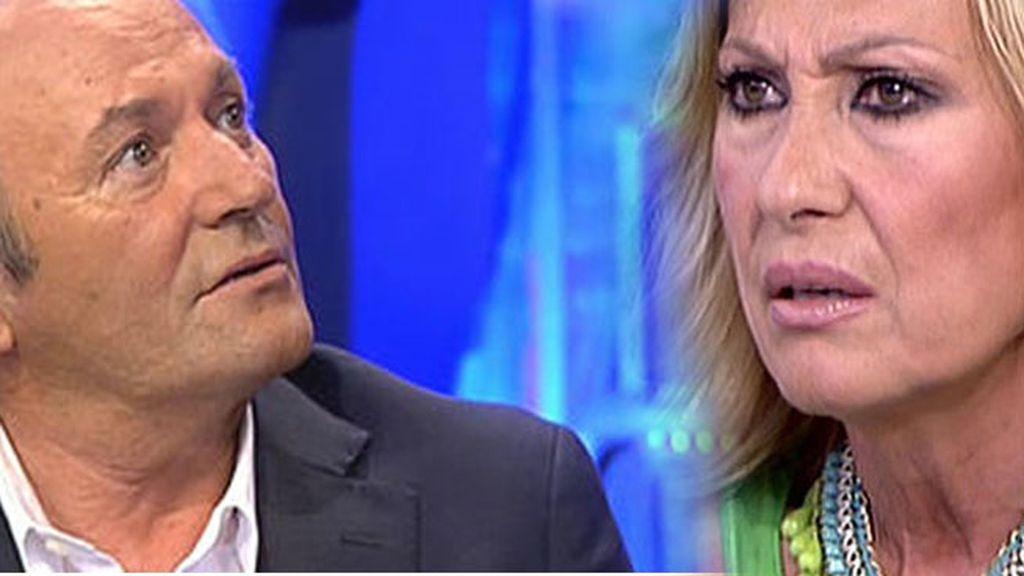 Amador Mohedano ha amenazado a Rosa Benito con revelar datos desconocidos, según Isabel Rábago
