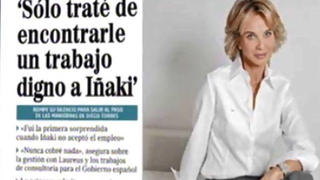 Dos directivos de Laureus han confesado que Corinna nunca trabajó para la entidad