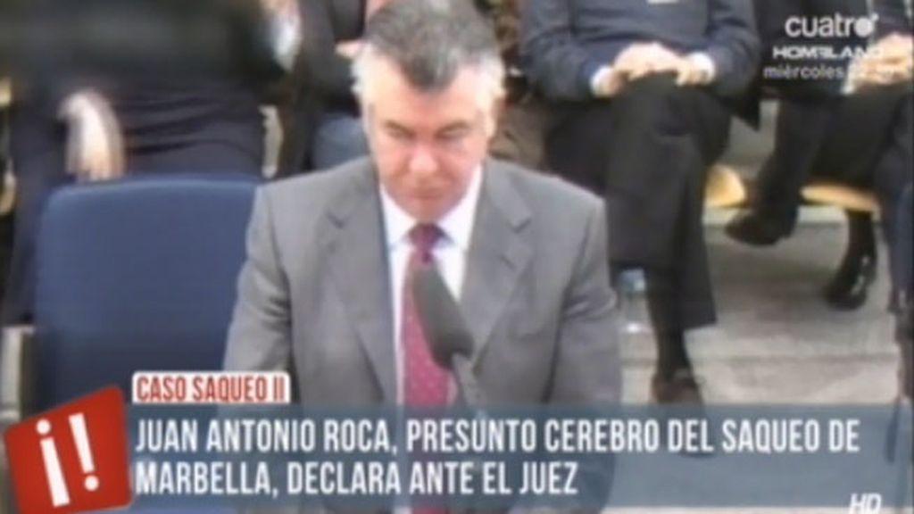Roca desvía responsabilidades hacia Julián Muñoz en el 'Caso Saqueo II'