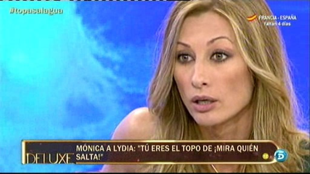 "Mónica Pont, a Lydia: ""Tú eres el topo"""